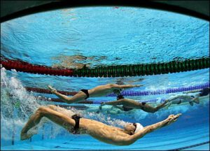 افزایش مهارت شنا با برنامه